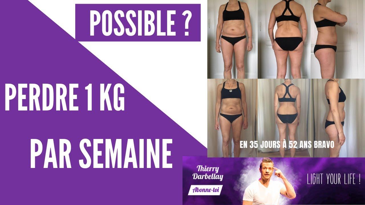 perdre 1 kg de graisse par semaine