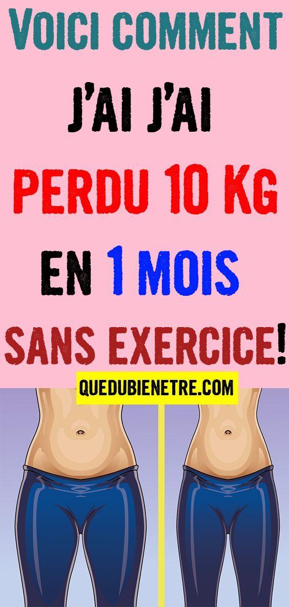 Comment perdre du poids en un mois ?