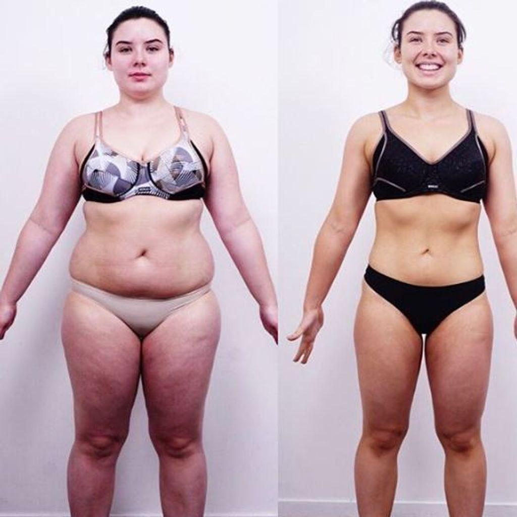 2 mois de perte de poids avant et après perte de poids karne k totkay