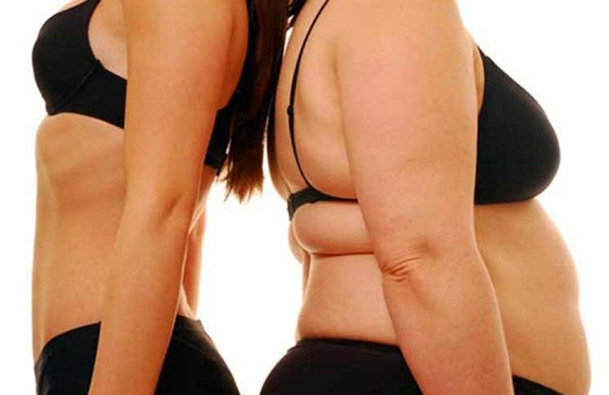 corps en forme de poire plus difficile à perdre du poids