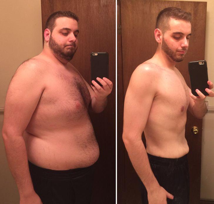 gros homme perte de poids brûler les graisses mct
