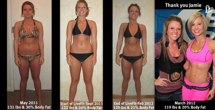 12 semaines de transformation de perte de poids femelle