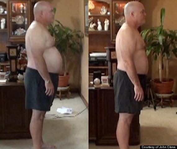 homme qui a mangé des mcdonalds et perdre du poids
