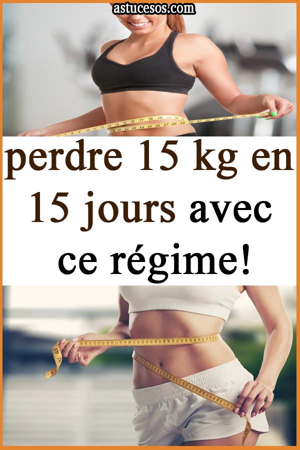 17 jours de perte de graisse