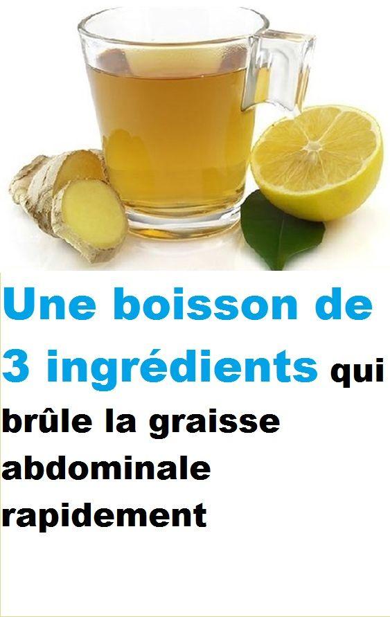 10 boissons brûle-graisse | davidpicot.fr | Boisson brule graisse, Tisane, Boisson