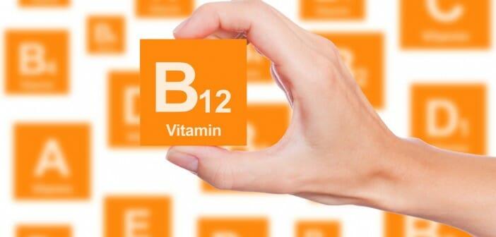 VITAMINE B12 mcg - SOLARAY - Haute teneur en B12