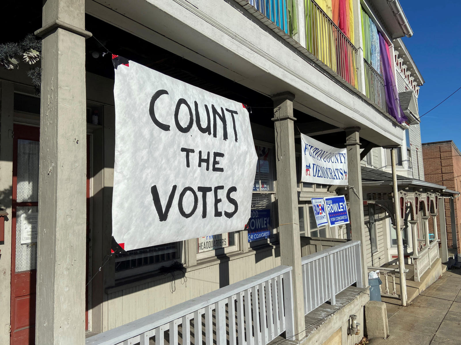 États-Unis: la Pennsylvanie rurale ne veut pas renoncer à Donald Trump