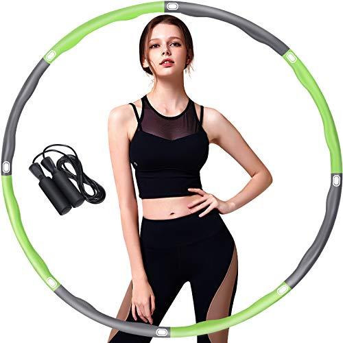 Elle perd 38 kilos en faisant tous les jours 20 minutes de hula hoop devant la télé