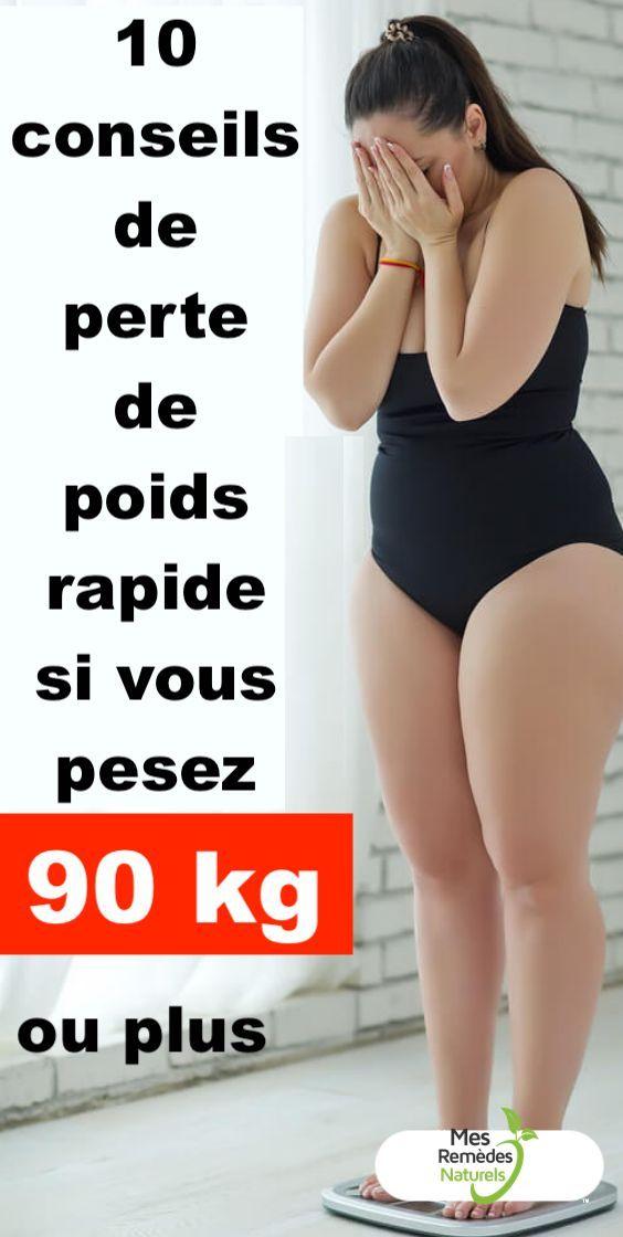 conseils et perte de poids