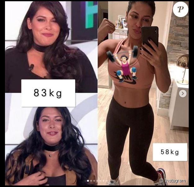 30 livres de perte de poids avant et après
