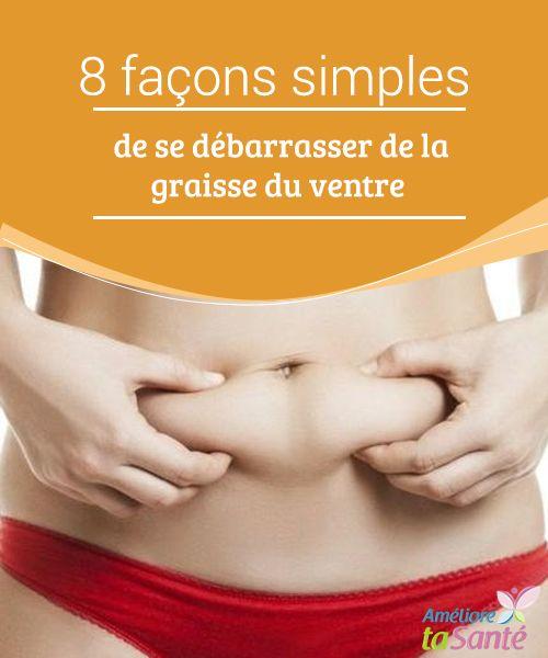 une façon de perdre la graisse du ventre