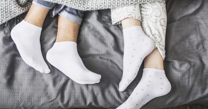 chaussettes minceur sommeil