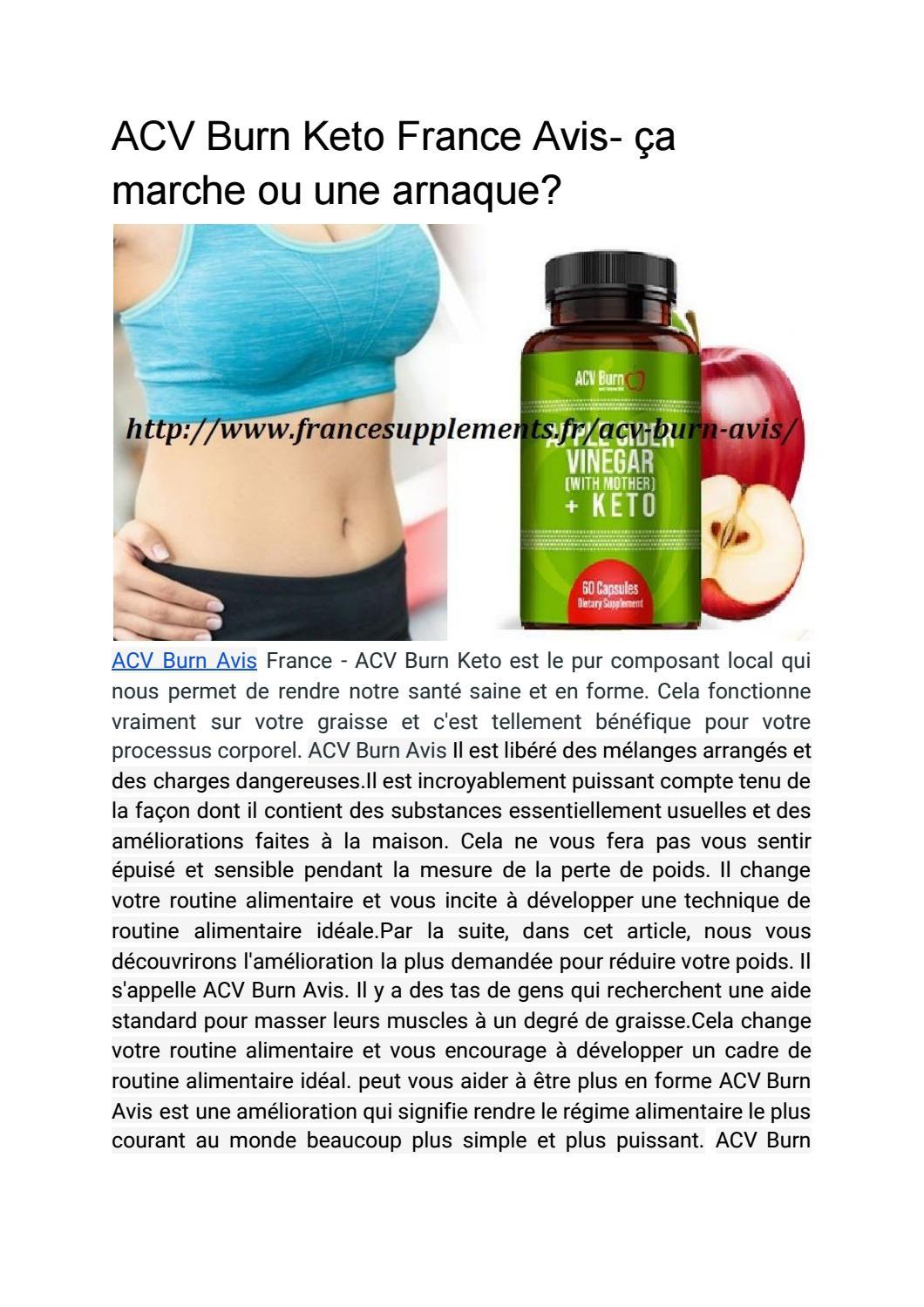 ACV Plus Keto Avis (ACV Plus France) – Prix, Pilules Arnaque & Où Acheter