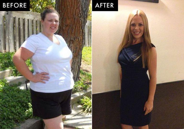 34 ans de perte de poids