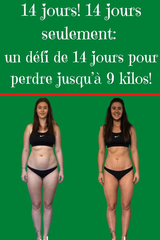 Défi de perte de poids de 80 jours