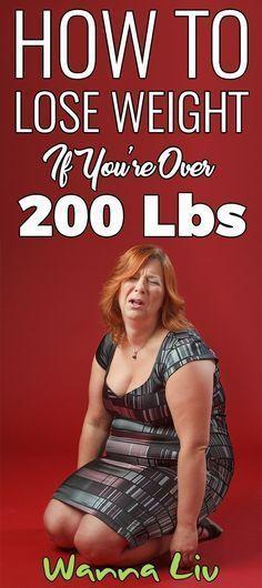 comment perdre du poids de plus de 200 livres