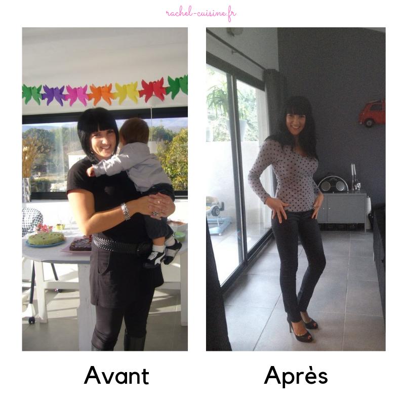 40 livres en 4 mois de perte de poids