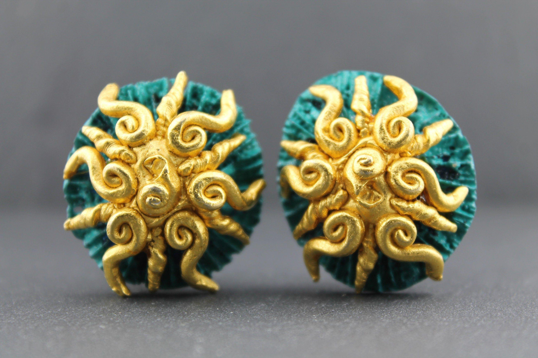 Boucles d'oreille Anneau Tweed – Imaï bijoux