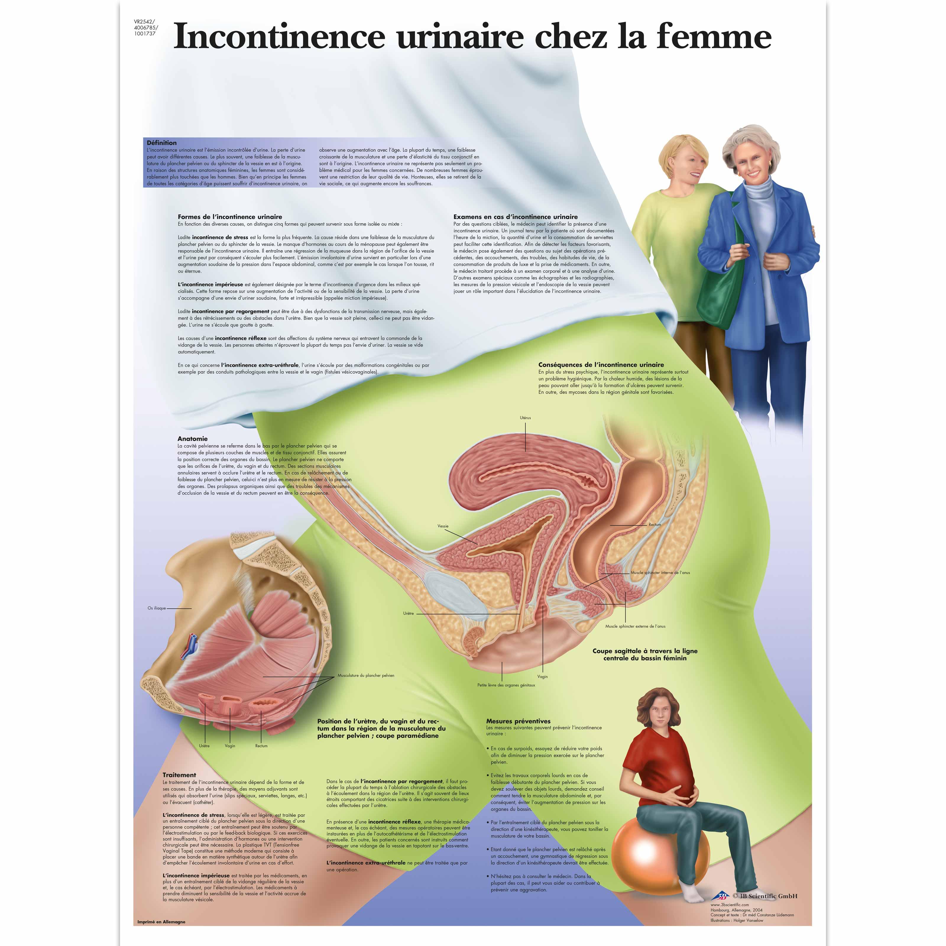 perte de poids et incontinence urinaire