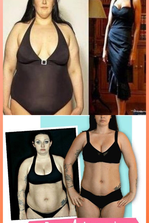 5 livres de perte de poids avant et après