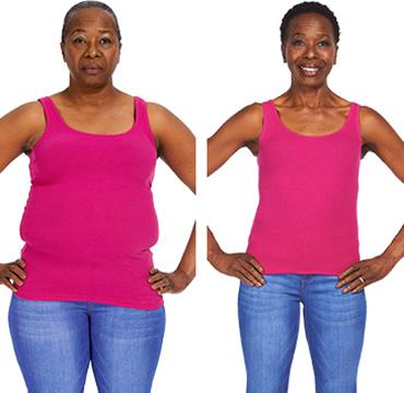 50 lb de perte de poids en 4 mois