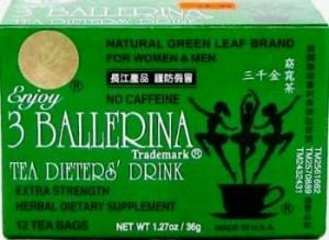 thé minceur ballerine nettoyage facile pour perdre du poids rapidement