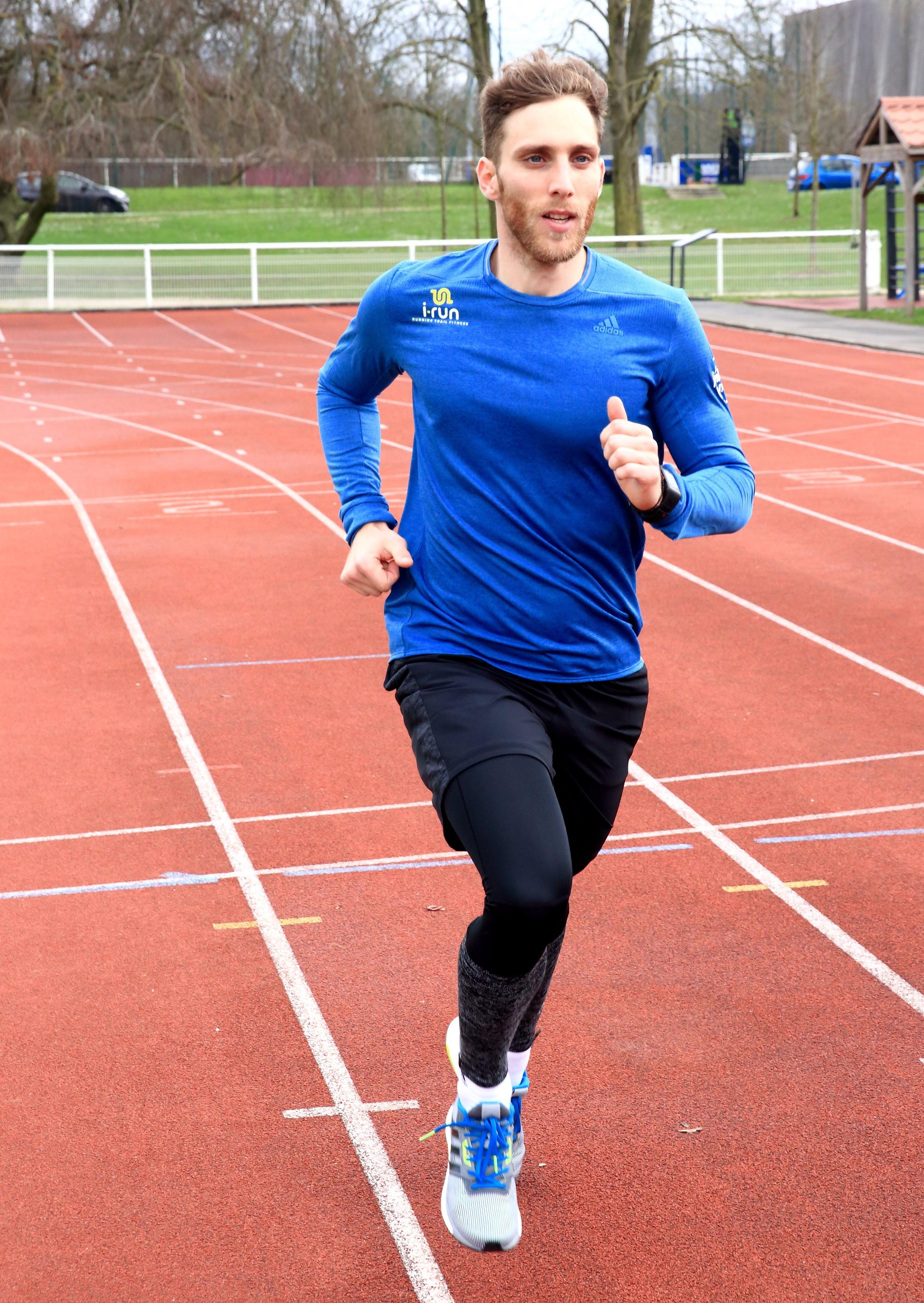 routine de sprint pour brûler les graisses