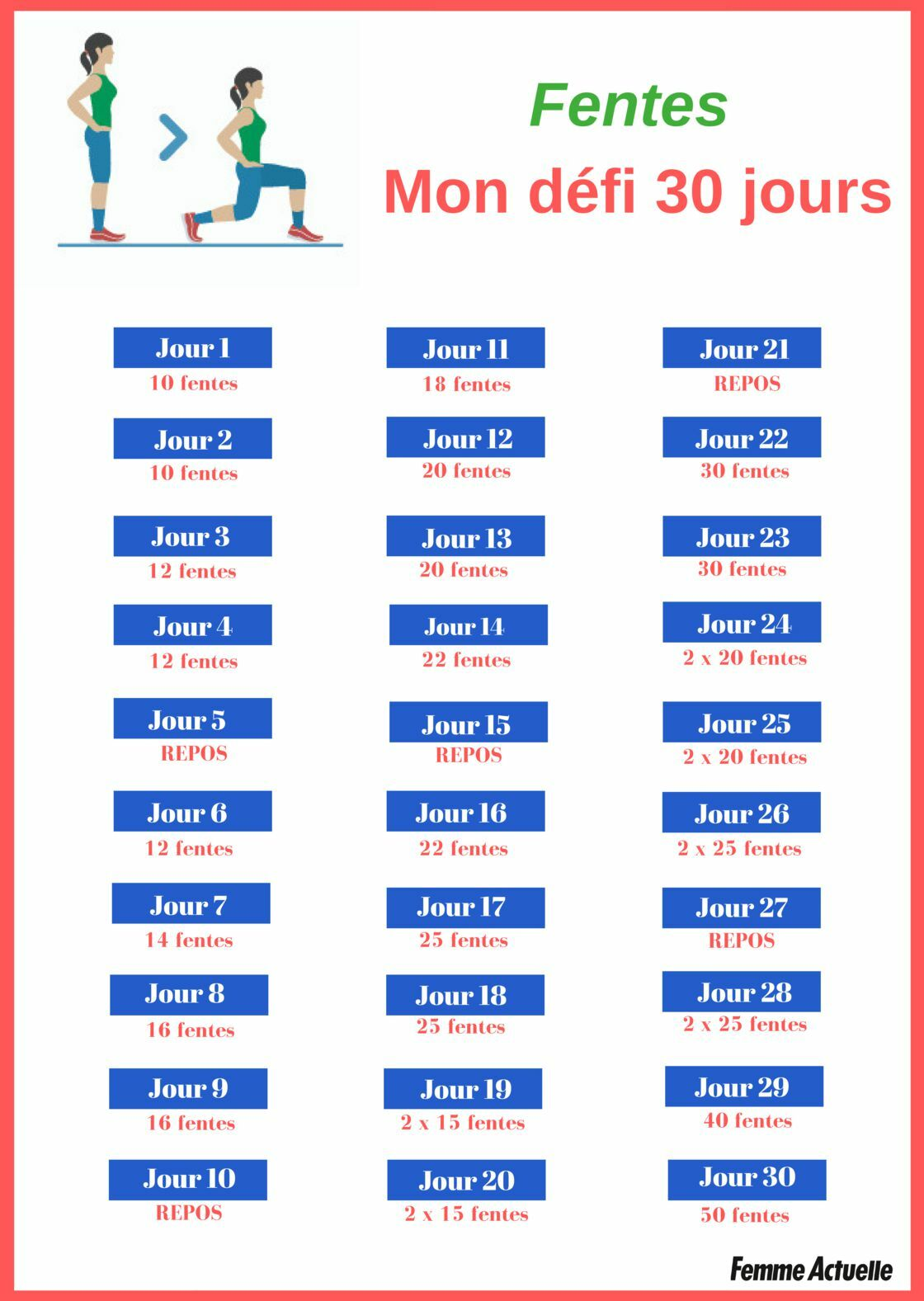 Défi 30 jours