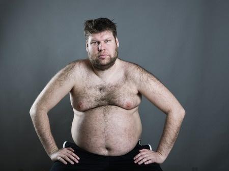 perdre du ventre gros seins homme
