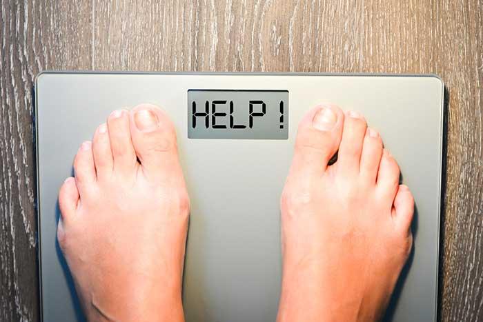 vais-je perdre du poids si je suis malade