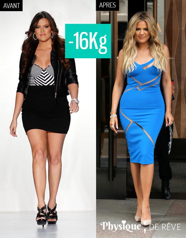 perdre du poids khloe kardashian