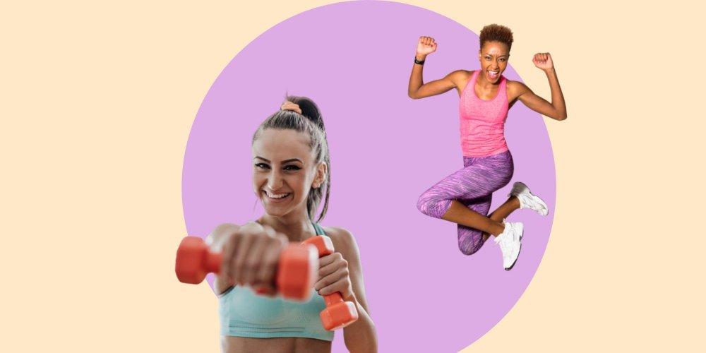 perdre la graisse du bras en utilisant des poids