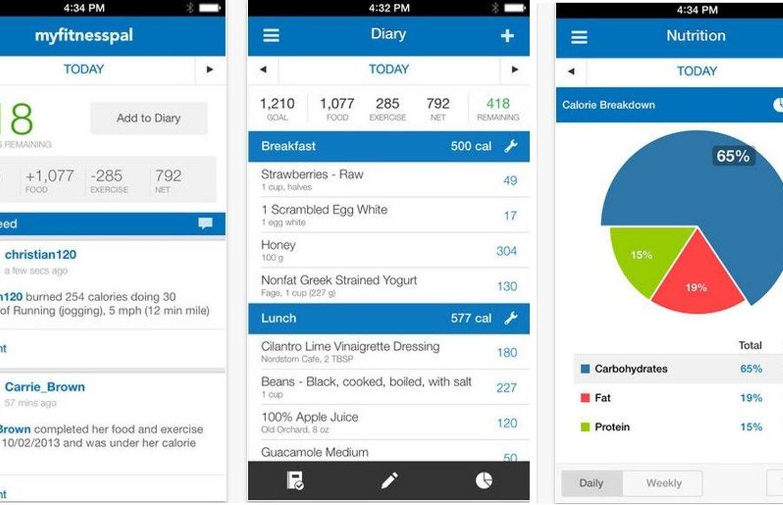 [iOS] Top 10 meilleures apps pour perdre du poids