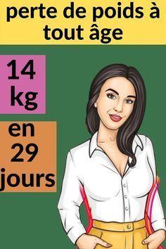 29 jours de perte de poids