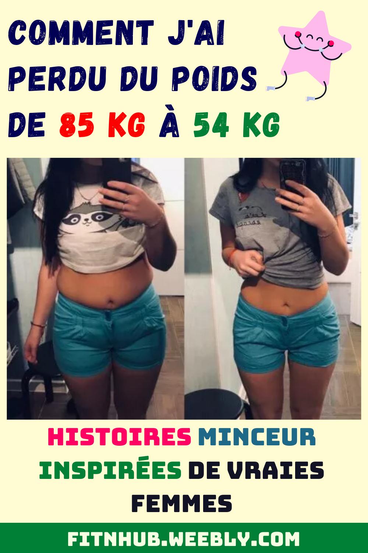 85 kg de perte de poids