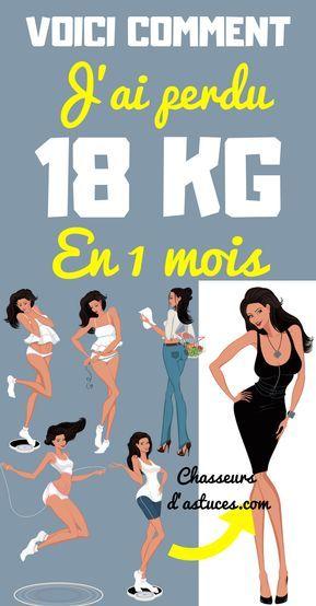 jai 18 jours pour perdre du poids