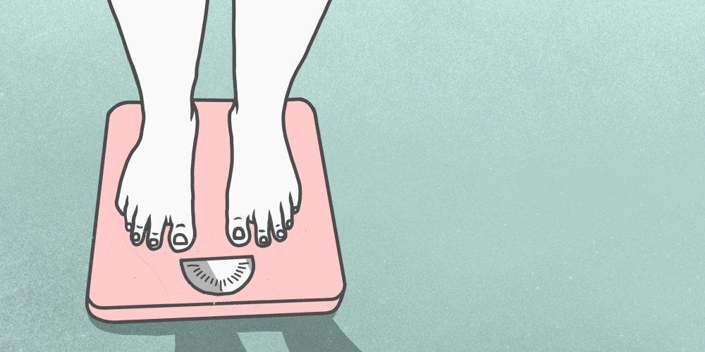 ne peut pas perdre du poids lacné