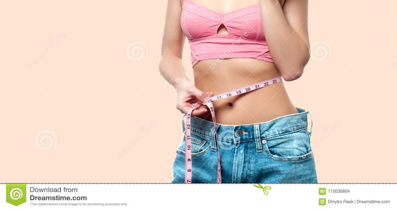 taille après perte de poids