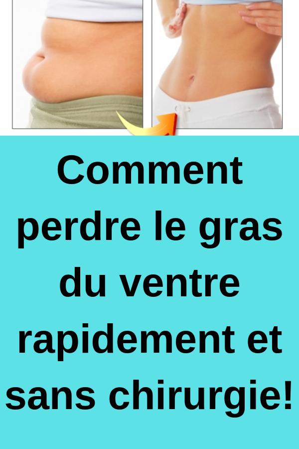 Comment perdre rapidement la graisse du ventre