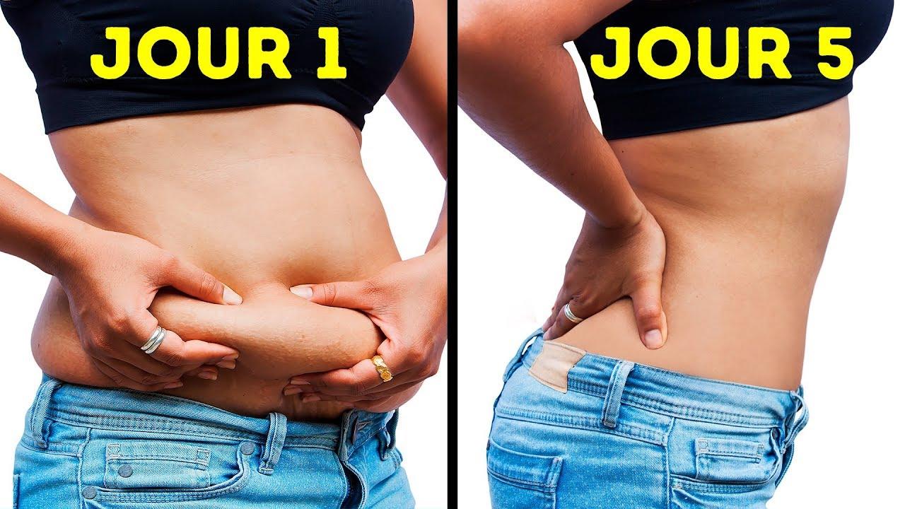 3 manières de faire perdre de la graisse à votre corps