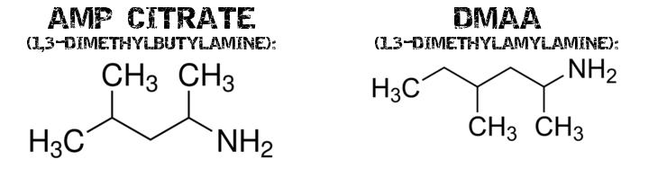 brûleurs de graisse avec 1 3 diméthylamylamine