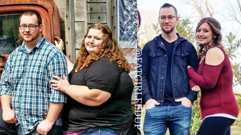 couple de perte de poids