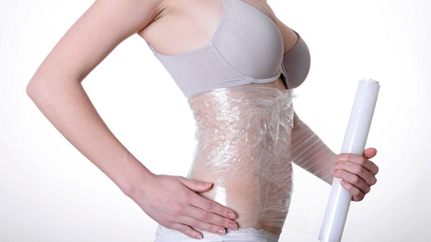 S'envelopper de film alimentaire : la nouvelle méthode pour maigrir ?