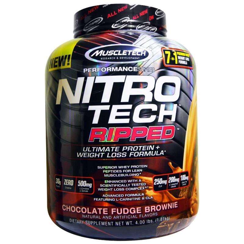 perte de graisse nitro tech