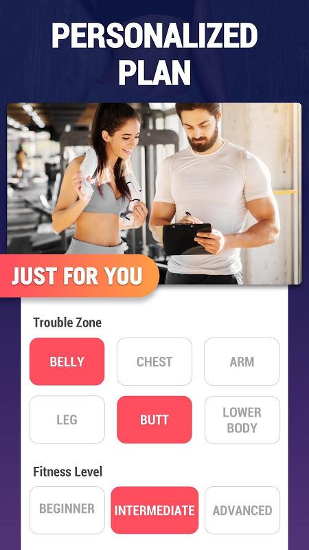 application Android pour brûler les graisses