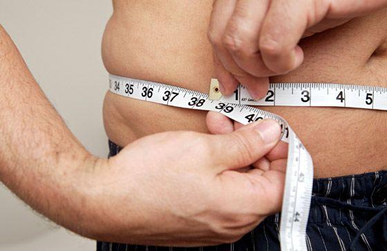 équation pour la perte de pourcentage de graisse corporelle