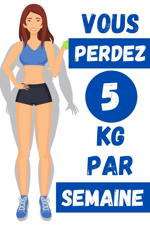 pouvez-vous perdre du poids en 5 jours