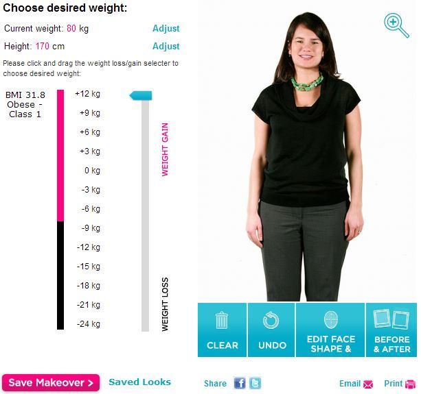 Perte de poids femme 170 lbs