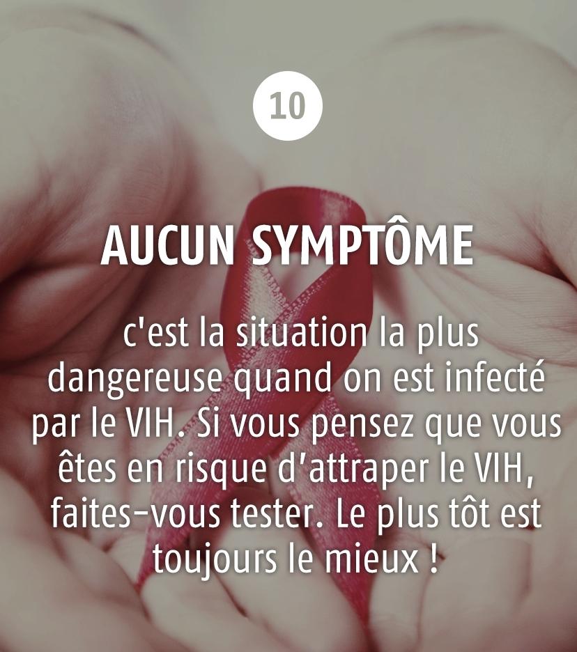 Les symptômes de l'infection par le VIH/sida - VIDAL