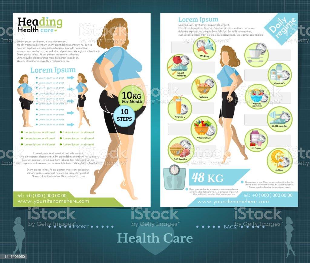 brochure de perte de poids